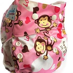 Tã vải Goodmama Siêu chống Tràn size M(3-12kg) size L (10-17kg)