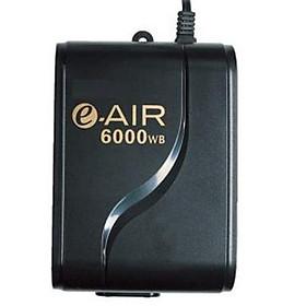 Máy sủi khí bể cá 2 vòi siêu êm, siêu tiết kiệm điện GEX e-air 6000WB