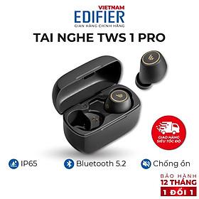 Tai nghe Bluetooth 5.2 EDIFIER TWS1 PRO - Thời gian phát 42h - Chống nước IP65 Hàng chính hãng Bảo hành 12 tháng 1 đổi 1