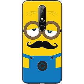 Ốp lưng dành cho  Nokia 5.1 Plus  mẫu Minion buồn ngủ