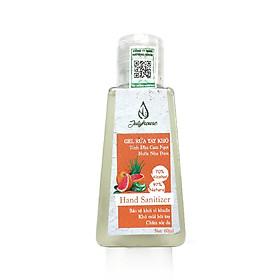 Gel rửa tay khô tinh dầu Cam và Nha Đam 60ml JULYHOUSE giúp sạch tay, kháng khuẩn, an toàn cho da, hương thương tinh dầu thư giãn