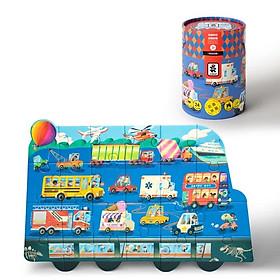 Đồ chơi lắp ghép tranh ROBUD 24 chi tiết (3-6 tuổi)
