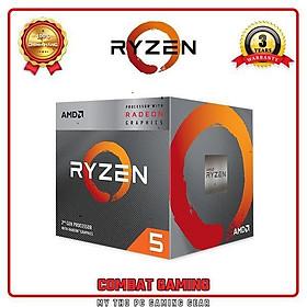 Bộ Vi Xử Lý AMD RYZEN 5 3400G BOX- Hàng Chính Hãng
