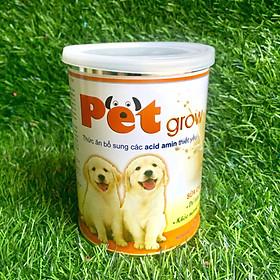 Pet Grow – Sữa Cao Cấp Dành Cho Chó Con Trên 1 Ngày Tuổi – Sản Phẩm Thuộc Thương Hiệu Uy Tin Chất Lượng Về Chế Phẩm Sinh Học Dùng Trong Chăn Nuôi Vemedim – Cam Kết An Toàn, KHÔNG Tiêu Chảy – PG01