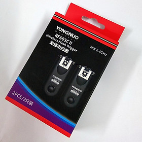 Yongnuo RF-603II- Bộ điều khiển không dây cho đèn flash máy ảnh - Hàng nhập khẩu
