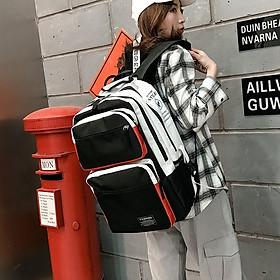 Balo thời trang nam nữ Unisex ulzzang học sinh sinh viên Cặp to vừa laptop