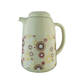 Phích pha trà cao cấp Rạng Đông, 1 lít, giữ nhiệt, thân sắt, vai nhựa, Model: RD-1045TS.E- Chính hãng