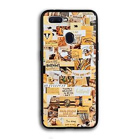 Ốp lưng Harry Potter cho điện thoại Oppo F9 - Viền TPU dẻo - 02064 7788 HP04 - Hàng Chính Hãng