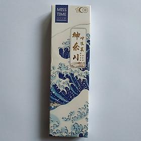 Hộp 30 tấm Bookmark đánh dấu sách Sóng Biển