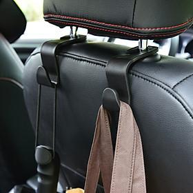 Combo 2/3/4 cái giá móc treo đa năng gắn tựa đầu treo đồ vật sau ghế ô tô, xe hơi chịu tải đến 5kg