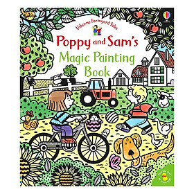 Poppy and Sam's Magic Painting Book - Farmyard Tales Poppy and Sam