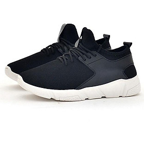 Giày sneaker thể thao nam nữ thoáng khí kiểu dây buộc Rozalo RM43105