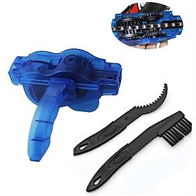 Dụng cụ chà vệ sinh rửa xích và líp, bánh răng và chữa tụt xích đa năng cho xe đạp Mai Lee - Hàng chính hãng
