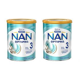 2 Lon Sữa Nan Optipro số 1  (800g) dành cho bé từ 0 đến 6 tháng tuổi