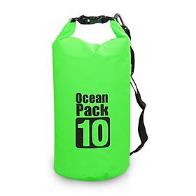 Outdoor Waterproof Dry Backpack Water Floating Bag Roll Top Sack For Kayaking Rafting Boating