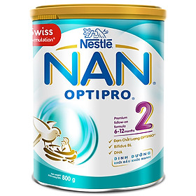 Sữa Bột Nestlé NAN Optipro 2 (800g)