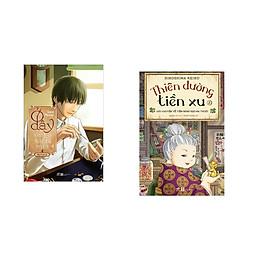 Combo 2 cuốn sách: Ở đây sửa kỷ niệm xưa 4 – Đồng hồ vĩnh cửu  + Thiên đường tiền xu - Câu chuyện về tiệm bánh kẹo ma thuật 2
