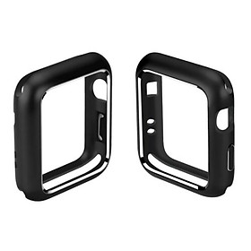 For Apple Watch iWatch Series 4/3/2/1 Magnetic Metal Bumper Case 38 40 42 44mm
