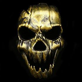 Mặt Nạ Kinh Dị Halloween Vàng KD09003-2