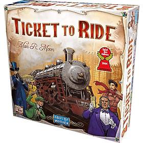 Trò Chơi Board Game Ticket To Ride Tiếng Anh