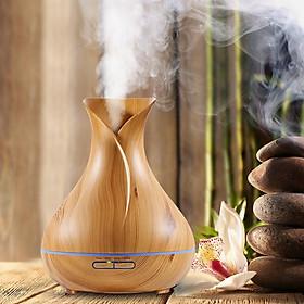 Máy khuếch tán tinh dầu siêu âm tạo ẩm bình hoa tulip - máy xông tinh dầu phun sương Aramacs-3