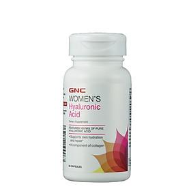Viên uống cấp nước GNC WOMEN'S HYALURONIC ACID