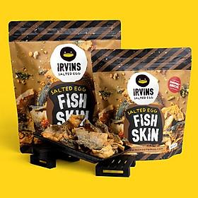 Da cá trứng muối 230g IRVINS - Big Salted Egg Fish Skin