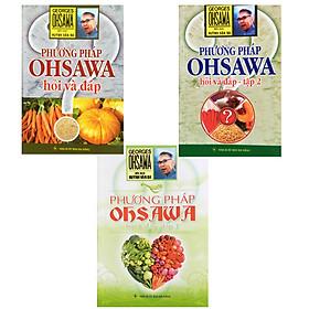 Bộ 3 Cuốn Sách Phương Pháp Ohsawa Hỏi Và Đáp Tập