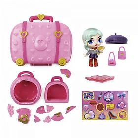 Đồ chơi dành cho trẻ em HATCHIMALS Vali thời trang du lịch Pixie 6056546