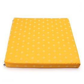 Nệm ngồi 405 Tropical Pine Square Seat Pad 40x40x5cm (Vàng)