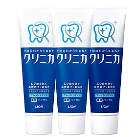 Lion (Lion) tooth strength good health tooth toothpaste (super cool mint) 130g * 3 (new and old packaging random delivery) (Japanese original import)