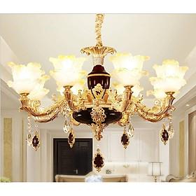 Đèn chùm - đèn trần trang trí nội thất IRELIA phong cách Châu Âu hiện đại