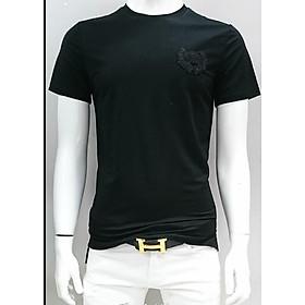 Áo thun Nam cổ tròn tay ngắn thiết kế đơn giản với logo trước ngực trẻ trung chất liệu vải lanh cao cấp mặc thoải mái dễ phối đồ phù hợp với xu hướng thời trang hiện nay