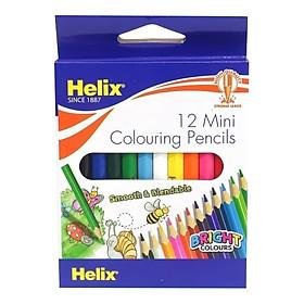 """Helix Bộ 12 Bút Chì Màu 3½"""" - PN5010"""
