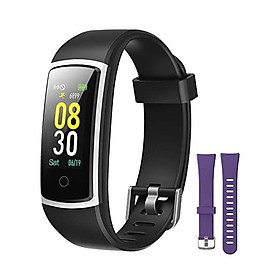YAMAY Fitness Tracker with Blood Pressure Monitor Heart Rate Monitor,IP68 Waterproof Activity Tracker 14 Mode Smart Watch with Step Counter Sleep Tracker,Fitness Watch for Women Men