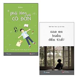 Sách Skybooks - Combo: Phải Lòng Với Cô Đơn + Sao Em Buồn Đến Thế? (2 cuốn)