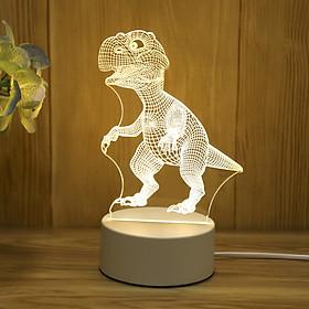 Đèn ngủ LED 3D trang trí - quà tặng độc đáo