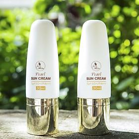 Kem Chống Nắng Pearl Sun Cream SPF 50 PA+++ (30ml)