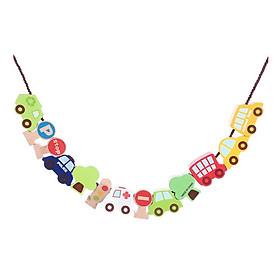 Chuỗi đồ chơi trang trí Miniso xe hơi 118g - Hàng chính hãng