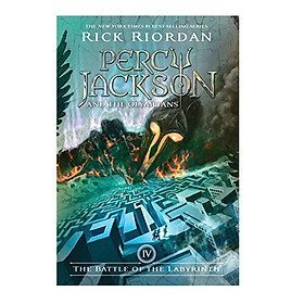 Percy Jackson #04: Percy Jackson And The Battle Of The Labyrinth (Reissue)