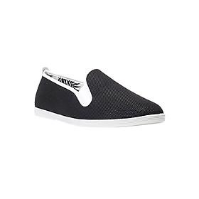 Giày Lười Flossy Unisex Buldog Black - Đen