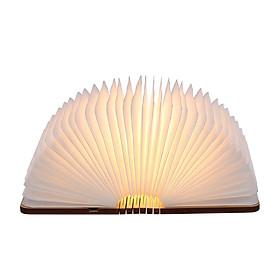 Đèn LED Ngủ Mini Hình Quyển Sách Có Thể Gập Lại Tomshine - Trắng Ấm