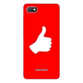 Ốp lưng điện thoại Xiaomi Redmi 6A hình Bạn là Số 1