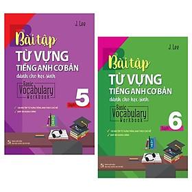 Combo Basic Vocabulary - Workbook Primary / Bài Tập Từ Vựng Tiếng Anh Cơ Bản - Tập 5 Và 6 (Bộ 2 Tập)