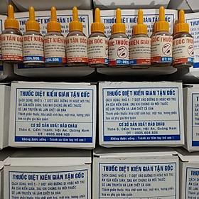 100 hộp ( 1 hộp 12 lọ ) thuốc diệt kiến sinh học Bảo Châu