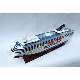 Mô hình thuyền du lịch SILJA SYMPHONY - 100cm