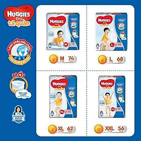 Tã quần siêu thấm Huggies Super Jumbo XXL gói 56 miếng-4