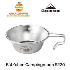 Chén ăn dã ngoại inox không rỉ Campingmoon S220