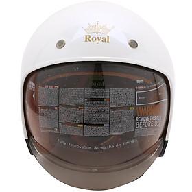 Mũ Bảo Hiểm 3/4 Đầu Royal M139