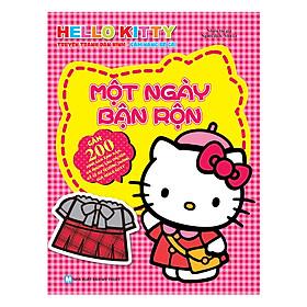 Hello Kitty - Một Ngày Bận Rộn (Dán Hình)